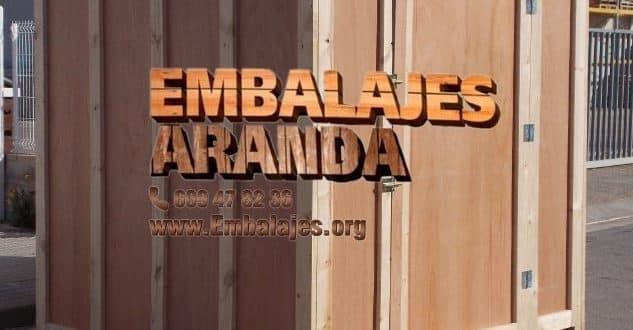 Embalaje madera Cobeña Madrid