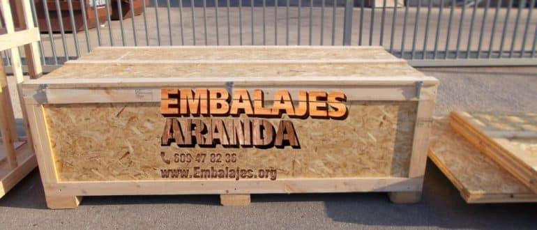 Embalaje madera Cobisa Toledo