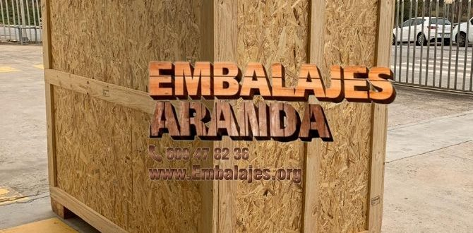 Embalaje madera Cocentaina Alicante