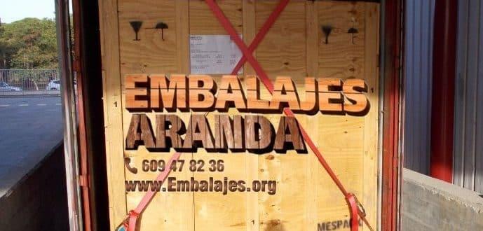 Embalaje madera Coín Málaga