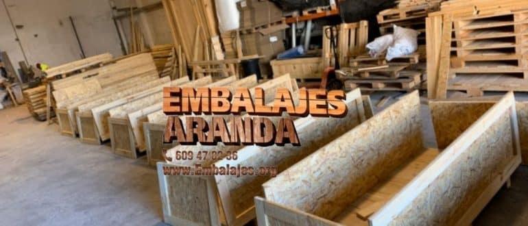 Embalaje madera Colindres Cantabria