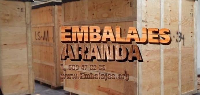 Embalaje madera Collado Villalba Madrid