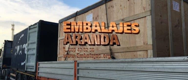 Embalaje madera Collbató Barcelona