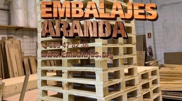 Embalaje madera Colmenar Viejo Madrid
