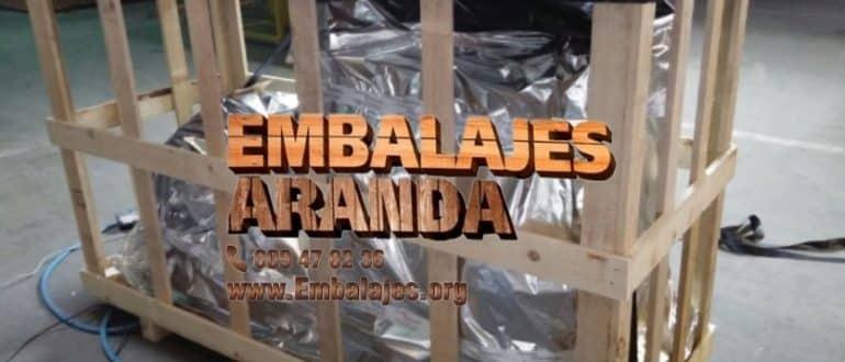 Embalaje madera Colmenar de Oreja Madrid