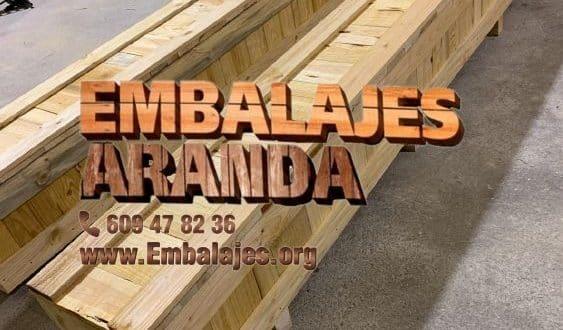 Embalaje madera Colmenarejo Madrid