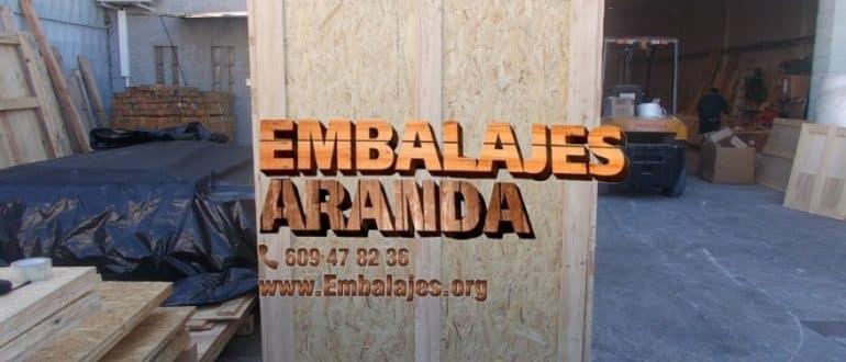 Embalaje madera Conil de la Frontera Cádiz