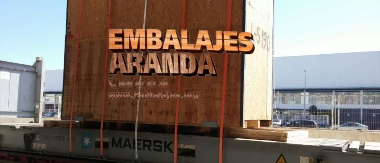 Embalaje madera Consell Illes Balears