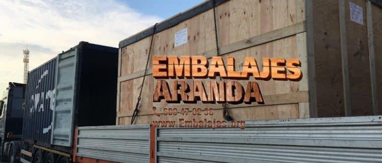 Embalaje madera Constantí Tarragona