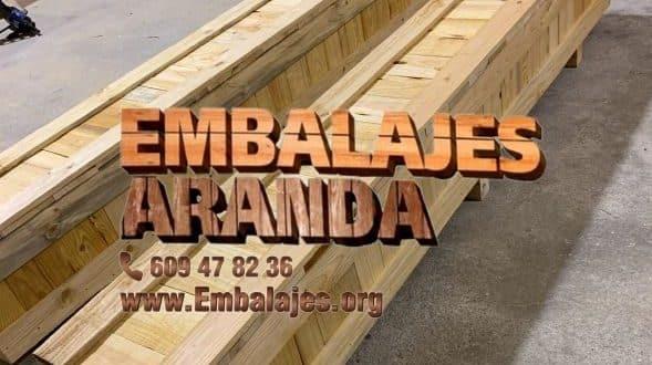 Embalaje madera Constantina Sevilla