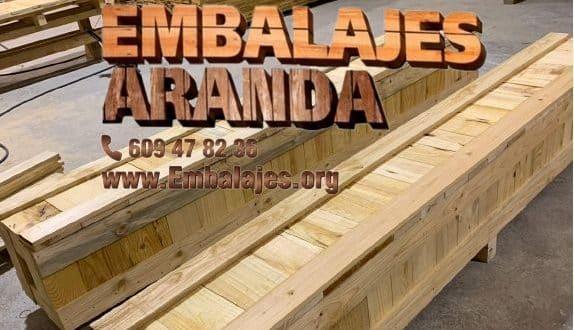 Embalaje madera Consuegra Toledo