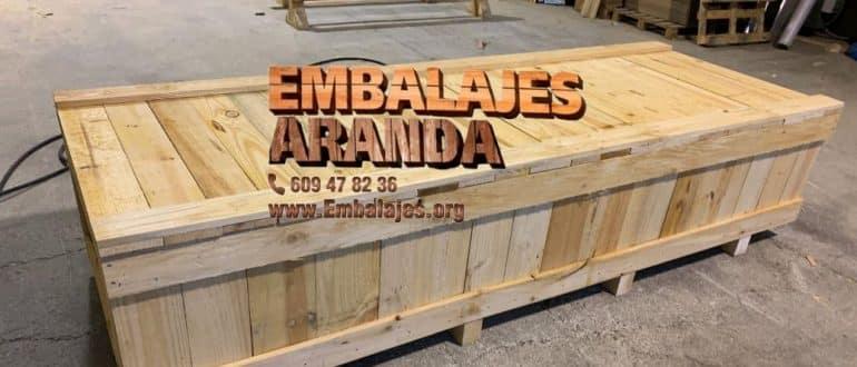 Embalaje madera Corella Navarra
