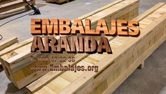 Embalaje madera Coria Cáceres