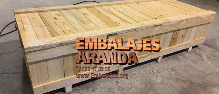 Embalaje madera Coria del Río Sevilla