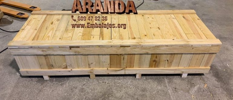 Embalaje madera Coristanco A Coruña