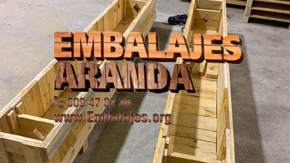 Embalaje madera Corral de Almaguer Toledo