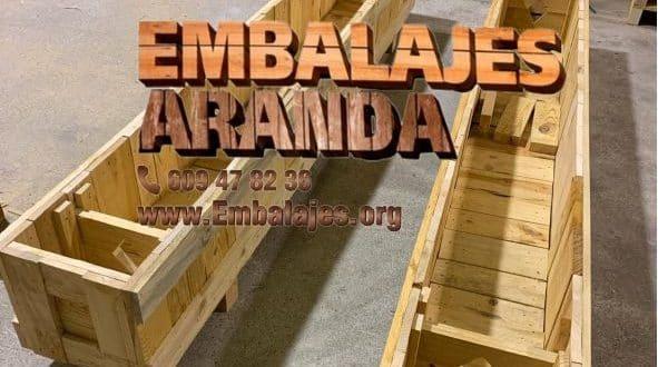 Embalaje madera Cortegana Huelva