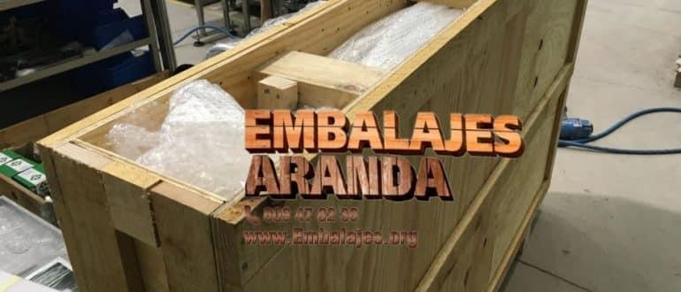 Embalaje madera Corvera de Asturias