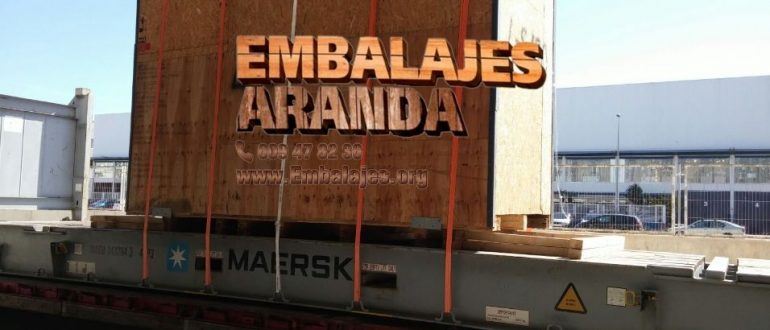 Embalaje madera Cubas de la Sagra Madrid
