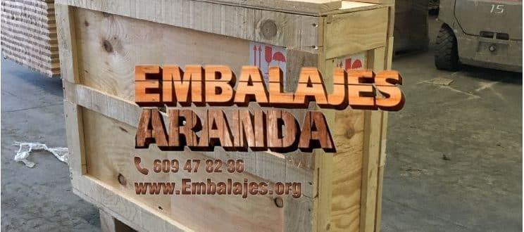 Embalaje madera Cubelles Barcelona