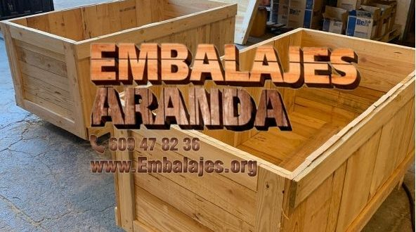 Embalaje madera Cudillero Asturias