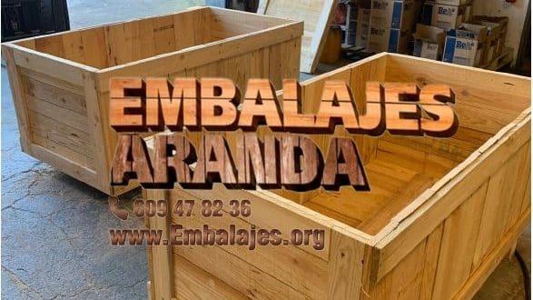 Embalaje madera Cuéllar Segovia