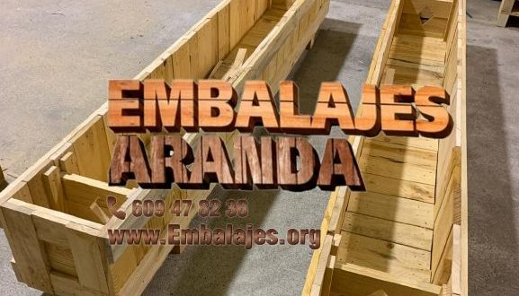 Embalaje madera Cuenca Castilla-La Mancha