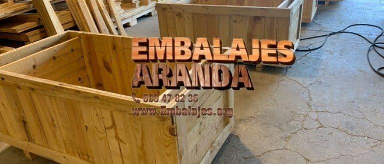 Embalaje madera Cuevas del Almanzora Almería