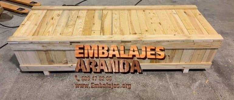 Embalaje madera Cullera València