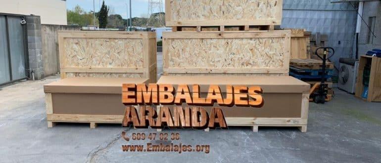 Embalaje madera Cunit Tarragona