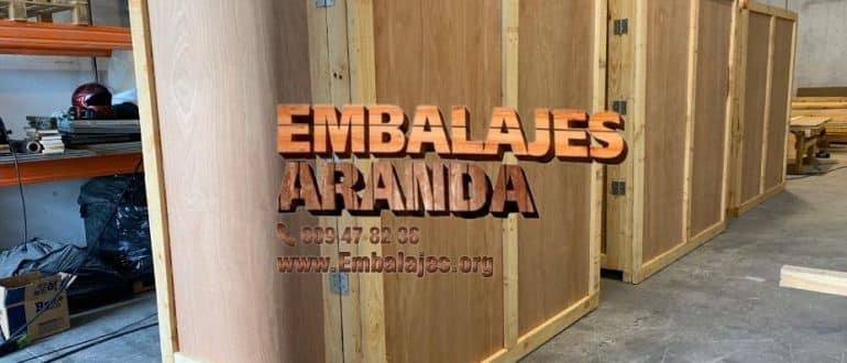 Embalaje madera Daganzo de Arriba Madrid