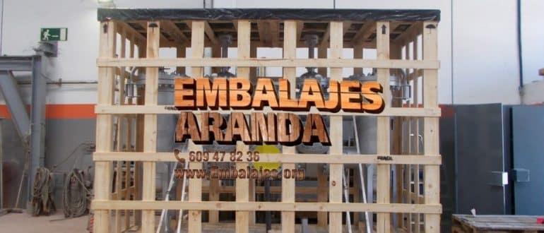 Embalaje madera Dolores Alicante