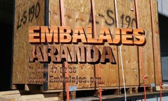 Embalaje madera Don Benito Badajoz