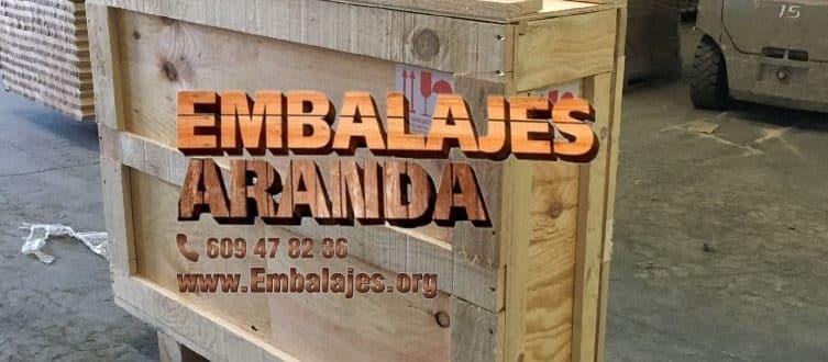 Embalaje madera Doña Mencía Córdoba