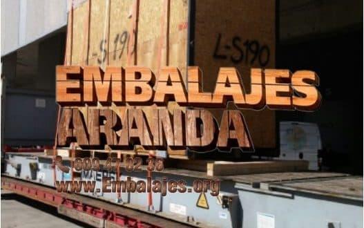 Embalaje madera Dosrius Barcelona