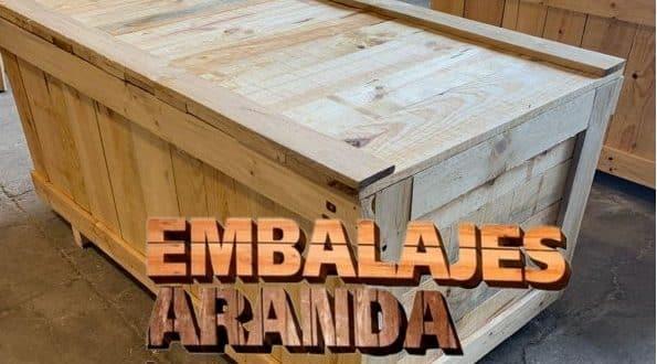 Embalaje madera Éibar Gipuzkoa