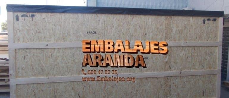 Embalaje madera Ejea de los Caballeros Zaragoza