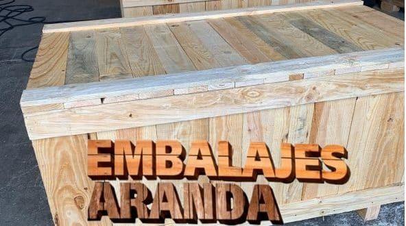 Embalaje madera El Álamo Madrid