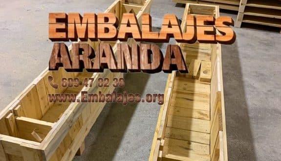 Embalaje madera El Astillero Cantabria