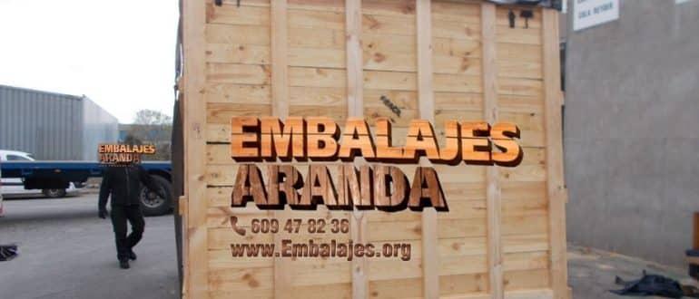 Embalaje madera El Barco de Valdeorras Ourense