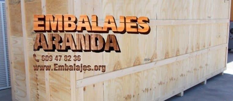 Embalaje madera El Boalo Madrid