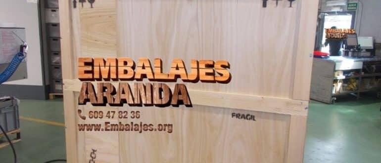 Embalaje madera El Campello Alicante
