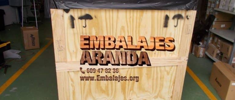 Embalaje madera El Casar Guadalajara
