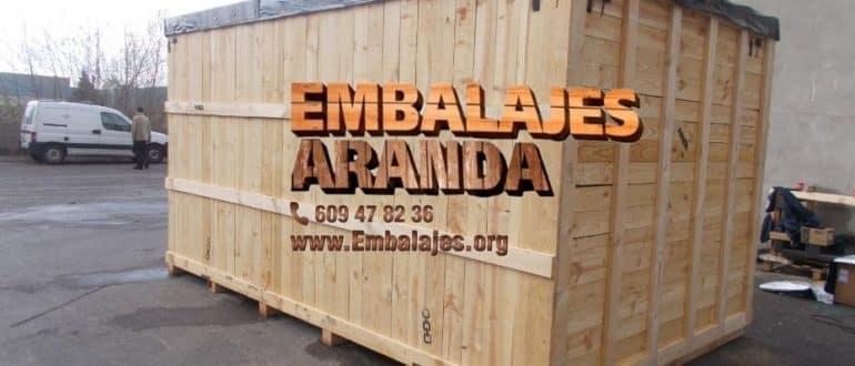 Embalaje madera El Catllar Tarragona