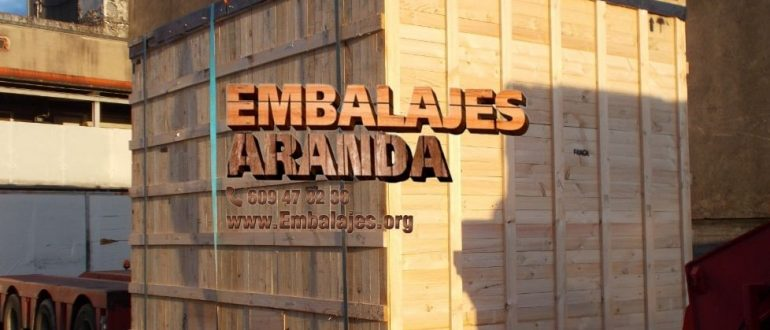 Embalaje madera El Coronil Sevilla