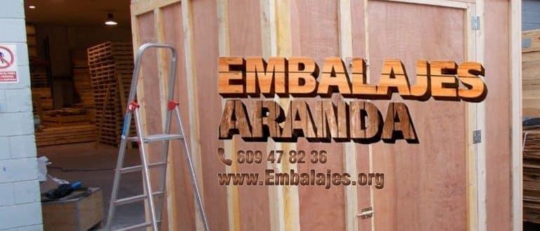 Embalaje madera El Escorial Madrid
