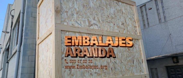 Embalaje madera El Espinar Segovia