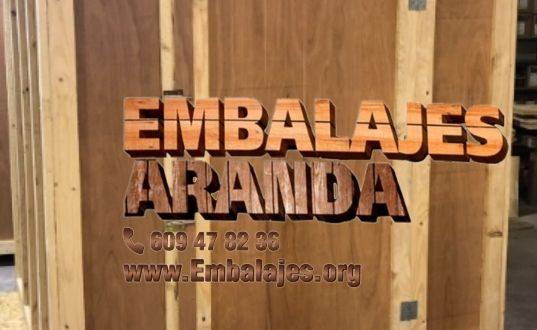 Embalaje madera El Molar Madrid