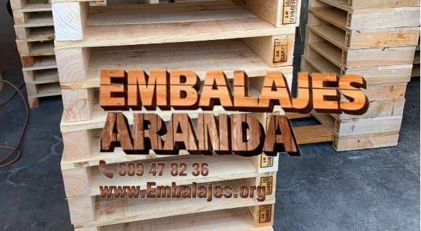 Embalaje madera El Pinós Alicante