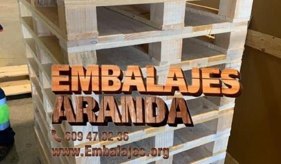 Embalaje madera El Puig de Santa Maria
